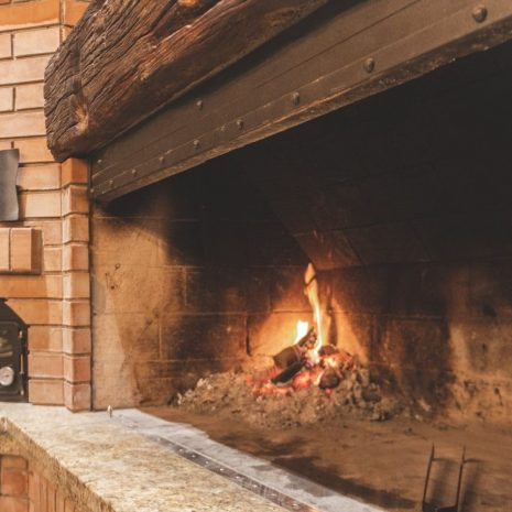 kamin i krušna peć