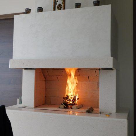 moderno ognjišće, Lovran