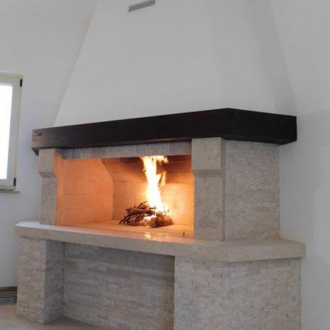 ognjišća , Istra