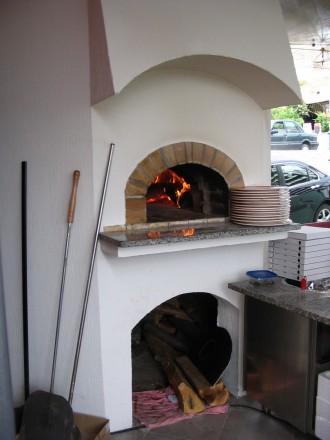 Peć van pizzerije