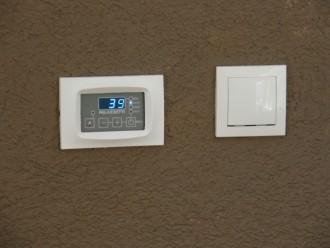 na 45°C izbaci topli zrak