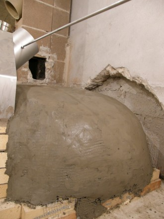 preko izolacije – beton