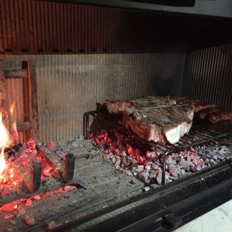 roštiljanje u ložištu