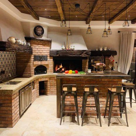 zidana kuhinja Istra