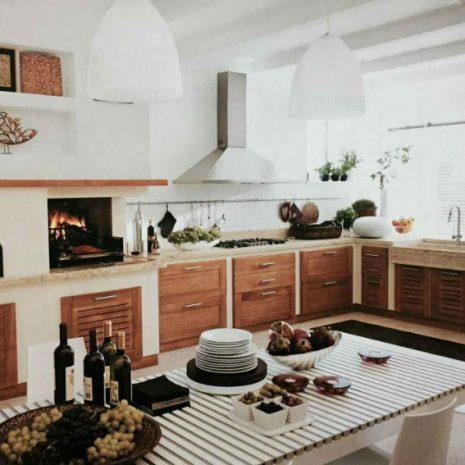 zidana kuhinja, Palazzetti